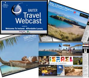 Baxter Travel Webcasts