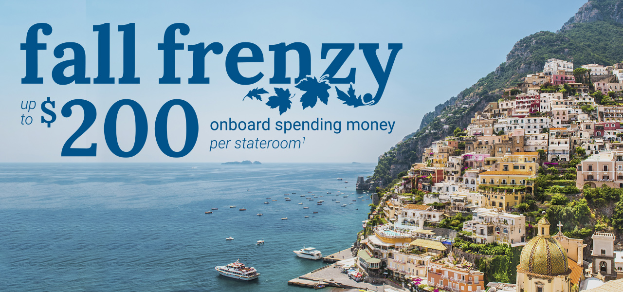 enjoy up to $200 onboard spending money per stateroom. Offer combines with Princess Plus