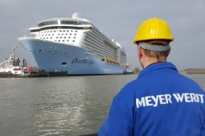 Milestone for Ovation of the Seas