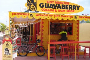 st maarten, guavaberry stand MB
