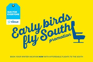 Transat Introduces 'Early Birds' Promotion