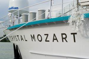 Crystal Mozart Christening Ceremony