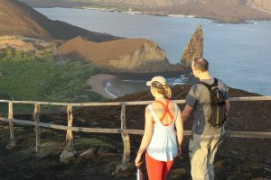 Galapagos Is, Ecuador, Pinnacle Rock IS