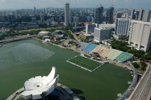 Singapore city view 2016