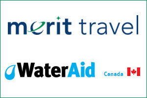 Merit Travel Group Partners With WaterAid Canada