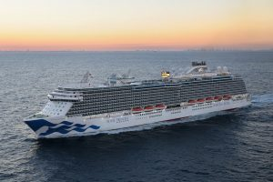 Royal Princess Makes U.S. Debut
