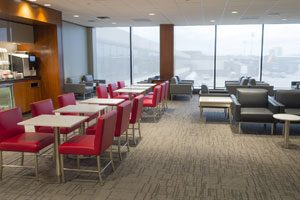 AC Opens New Lounge At Newark