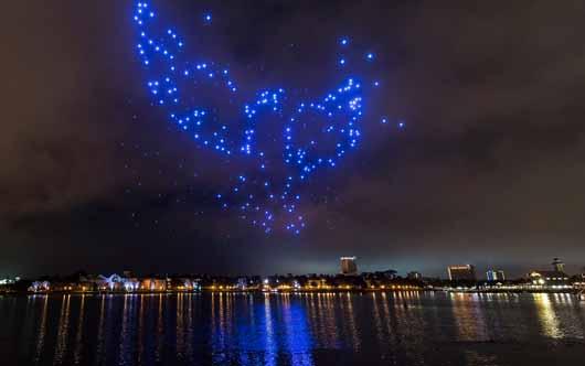 Disney lights up the skies