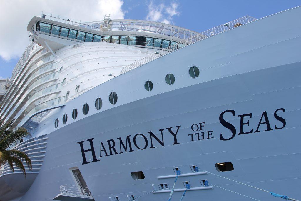 Harmony Of The Seas Officially Named Travelpress