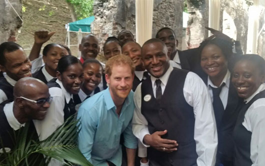 Sandals Welcomes Royalty