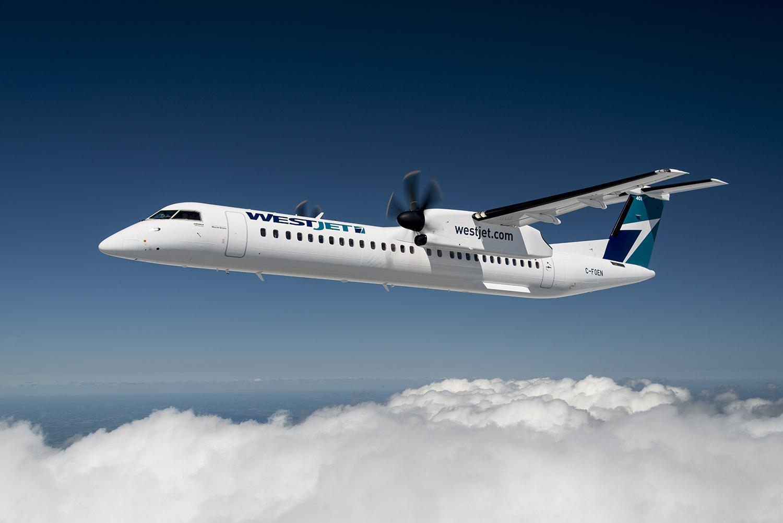 Αποτέλεσμα εικόνας για WestJet launches first intra-Quebec flight