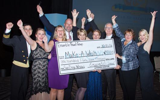 Ensemble Raises Record $152,000