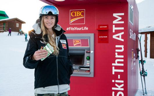 Ski-Thru ATM Opens at Whistler