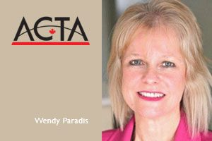Interview with ACTA's Wendy Paradis
