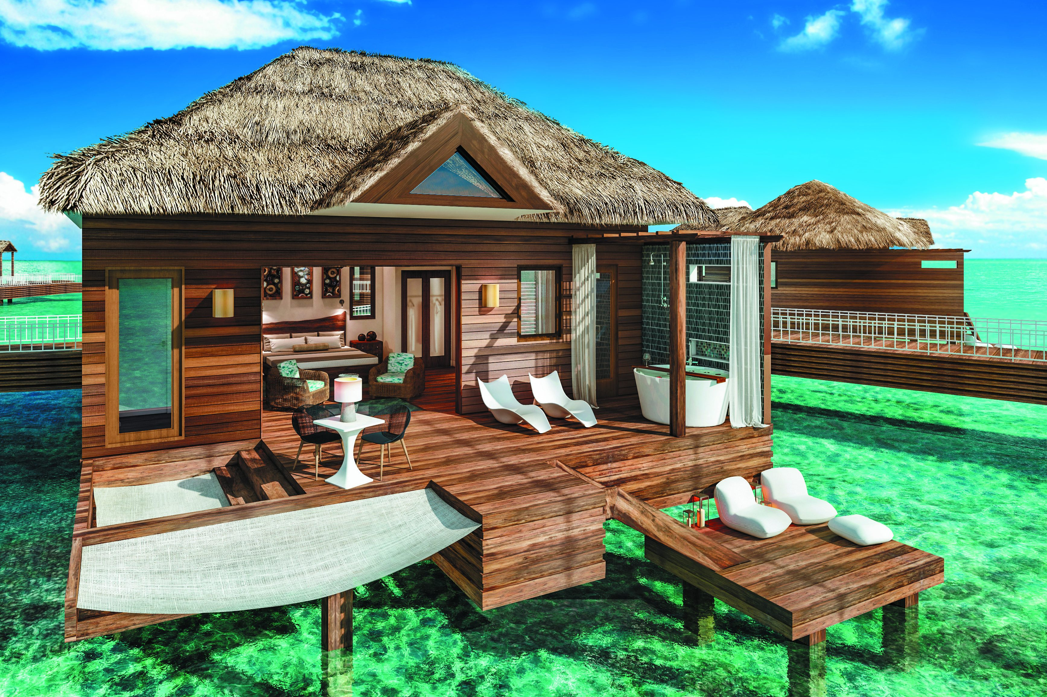 Sandals Goes Over The Water In Saint Lucia Travelpress