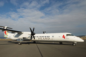 Island Air Charts A New Course