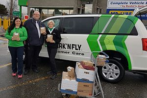 Park 'N Fly Canada Gives Back