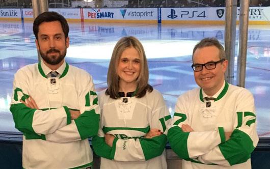 Leafs celebrate Irish heritage