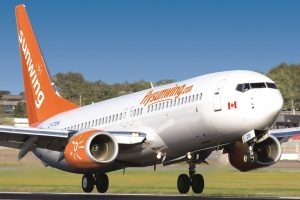 Sunwing Resumes YVR-Caribbean Services