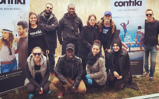 Contiki Cares Celebrates Earth Month