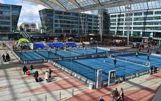 Tennis returns to Munich Airport