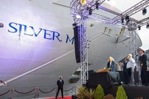 Silversea Christens New Flagship