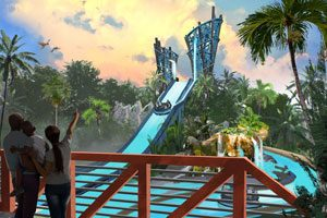 SeaWorld Poised To Debut Infinity Falls