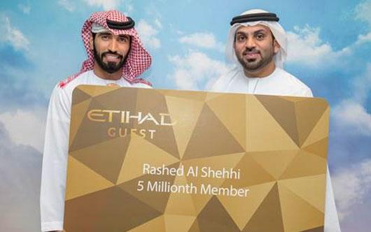 Etihad Guest marks milestone
