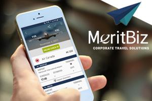 MeritBiz Launches New Travel App