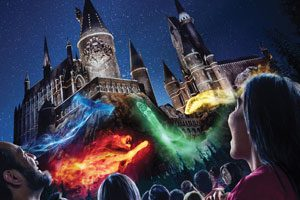 Universal Studios Hollywood casts a dazzling spell