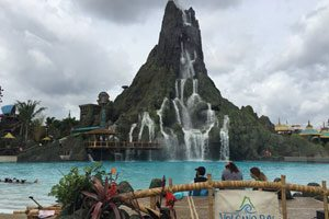 On The Road At Volcano Bay