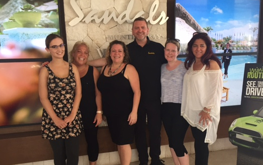 Sandals hosts ACV agents