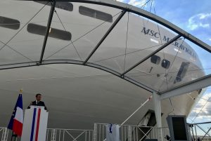 MSC Meraviglia delivered