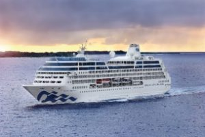 'New' Pacific Princess emerges from drydock