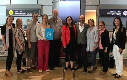 Air Transat celebrates Israel service