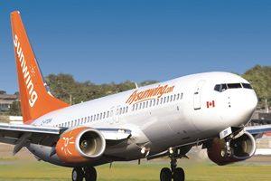 Sunwing Alters Southbound Flight Schedule