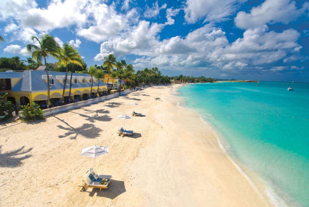 Sandals temporarily closing antigua resort travelpress for Florida grande motor coach resort