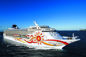 Norwegian Sun Sailing From Port Canaveral