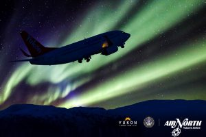 View The Northern Lights From The Air