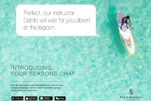 Four Seasons Says 'Let's Chat'