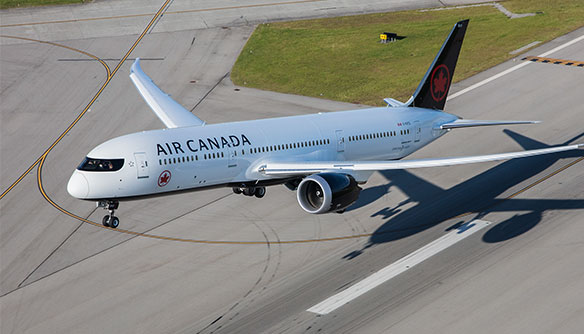 Air Canada Named 'Eco-Airline of the Year'