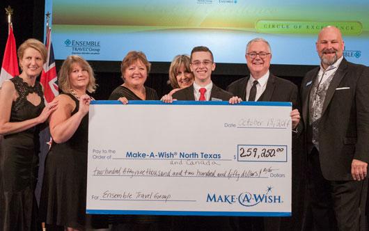 Ensemble raises record $259,000