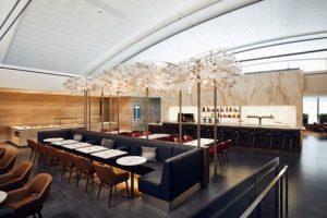 AC Lounge Features Hawksworth-Designed Menus