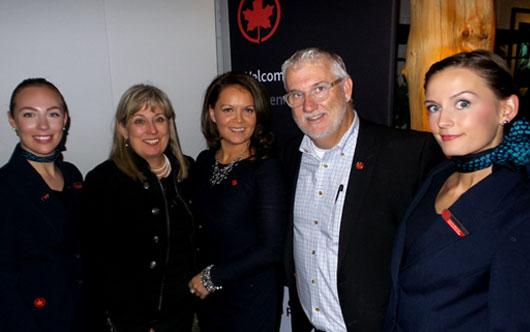 Air Canada gets festive