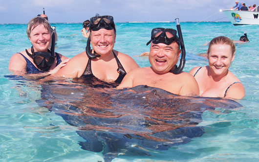 Cayman fun for specialists