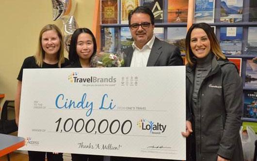 TravelBrands grand prize winner