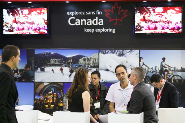 Canada On Show At WTM Latin America