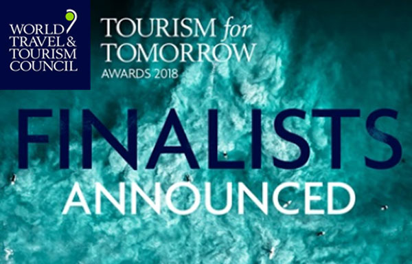 Finalists Named For Tourism for Tomorrow Awards