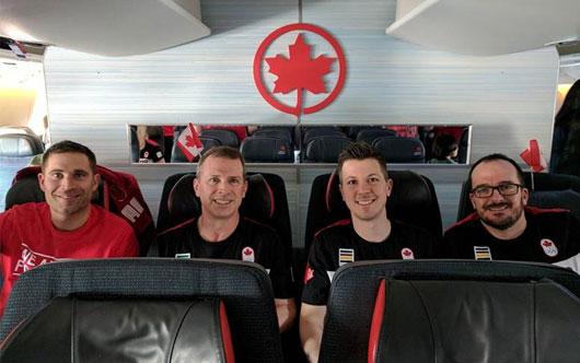 Good luck Team Canada!
