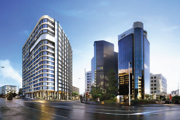 Cordis, Auckland To Get Second Tower